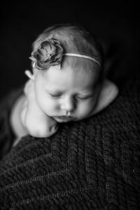00070--©ADHPhotography2020--MaddynSharp--Newborn--February21bw