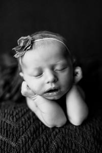 00065--©ADHPhotography2020--MaddynSharp--Newborn--February21bw