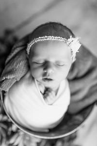 00122--©ADHPhotography2020--MaddynSharp--Newborn--February21bw