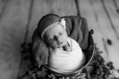 00126--©ADHPhotography2020--MaddynSharp--Newborn--February21bw