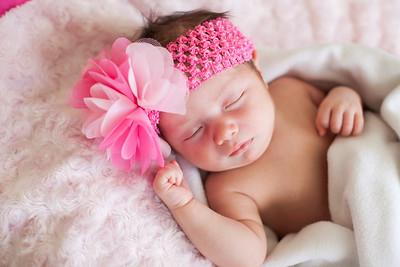 Millie {newborn lifestyle session}