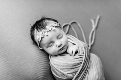 00071--©ADHPhotography2020--TENLEY--Newborn--February27bw