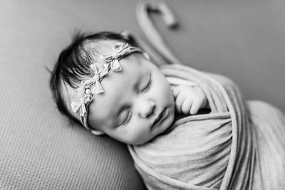 00074--©ADHPhotography2020--TENLEY--Newborn--February27bw