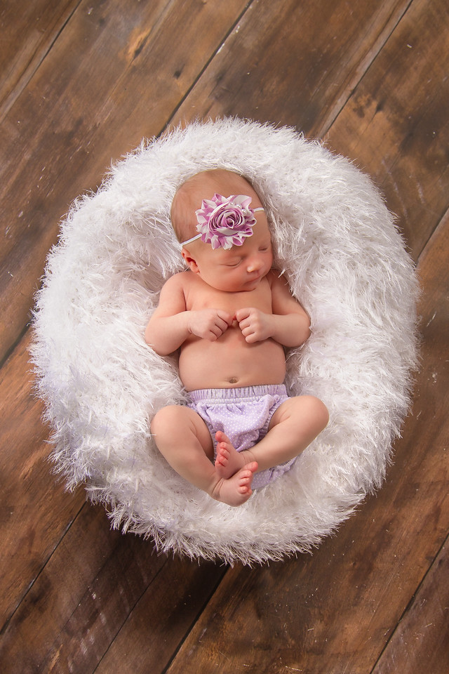 Are you ready for this cuteness? We had the beautiful newborn baby girl Emerson  in the studio today; she did great!