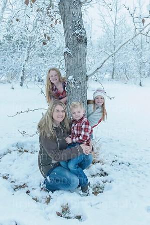 Christmas Card Snow