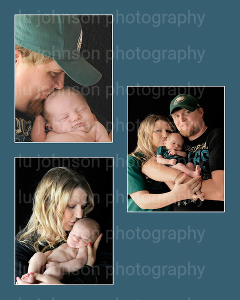 8x10 Collage Sabrina.   this is the same as the white background..I was just giving you a different background to see if that might be what you liked... This background color matches the coloring on daddy's shirt.