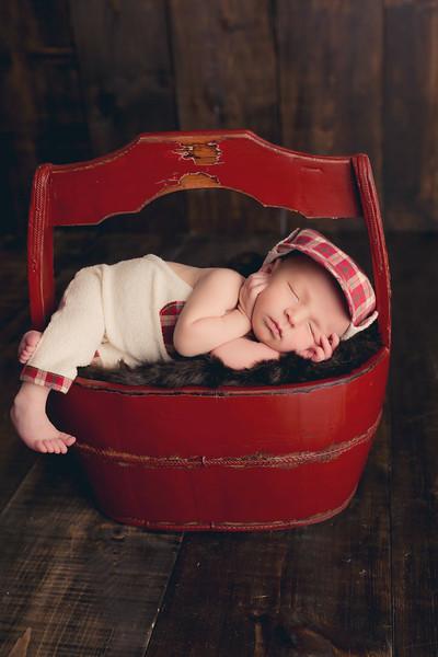 Cason Murphree Newborn Session