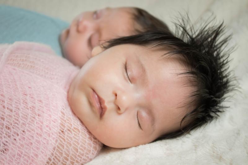 Grand Rapids, MI newborn twins brother and sister