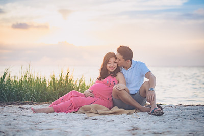 Meng's Maternity Portrait Session