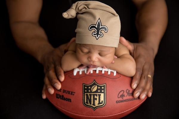 New Orleans Saints, Newborn Photography