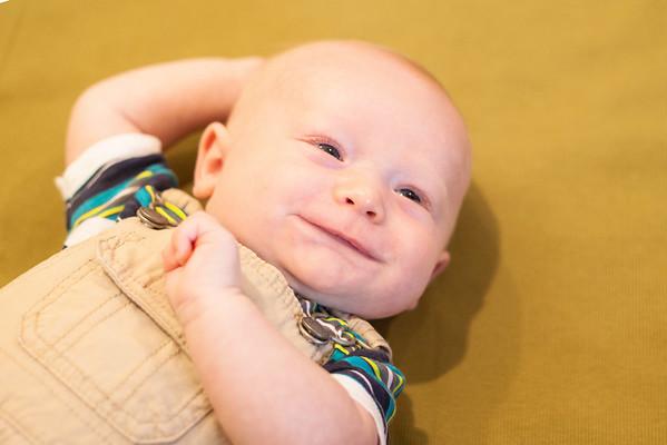 Logan: 3 months old