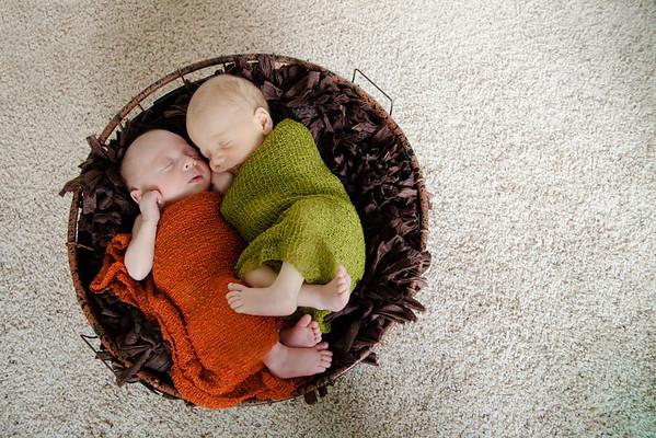 Newborn: Stanley Twins