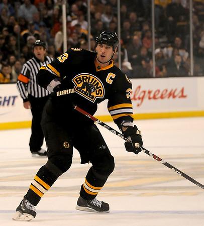 Boston: Bruins captain Zdeno Chara. Photo by Ben Laing/Newburyport Daily News Saturday November 29, 2008.