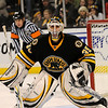 Boston: Bruins goalie Manny Fernandez. Photo by Ben Laing/Newburyport Daily News Saturday November 29, 2008.