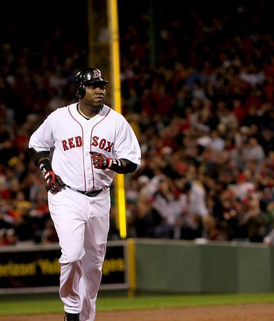 Boston: Red Sox designated hitter David Ortiz. Photo by Ben Laing/Newburyport Daily News September 22, 2008.