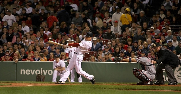 Boston: Red Sox centerfielder Jacoby Ellsbury. Photo by Ben Laing/Newburyport Daily News September 22, 2008.