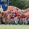 Waltham: The Amesbury Indians take the field before the start of their state championship game against Martha's Vineyard on Saturday. Photo by Ben Laing/Newburyport Daily News Saturday December 6, 2008.