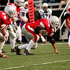 Waltham: The Amesbury Indians take the field against Martha's Vineyard on Saturday for the state championship. Photo by Ben Laing/Newburyport Daily News Saturday December 6, 2008.