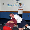 Georgetown:<br /> New Georgetown High School wrestling coach Mike Curley works with his team.<br /> Photo by Bryan Eaton/Newburyport Daily News Thursday, December 25, 2008