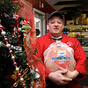 Hampton:<br /> Chad Luby of The Butchery in Hampton Falls is putting on a Christmas dinner for the needy.<br /> Photo by Bryan Eaton/Newburyport Daily News Tuesday, December 16, 2008
