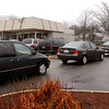 Salisbury:<br /> With power out in Seabrook and much of Amesbury, the Dunkin Donuts in Salisbury Square had the drive-up line out onto Route One, and cars parked along Spring and Gardner Streets late Friday morning.<br /> Photo by Handout/Newburyport Daily News Friday, December 12, 2008