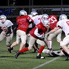 Amesbury:<br /> The Amesbury High football team does a little tuning up before their match against Martha's Vineyard in Saturday's Superbowl.<br /> Photo by Bryan Eaton/Newburyport Daily News Thursday, December 04, 2008