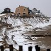 Newbury: Plum Island Beach seems to have weathered the storms this weekend photo by Jim Vaiknoras/Newburyport Daily News. Saturday December 20, 2008
