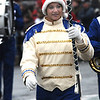 Merrimac:Georgetown Drum Major Alissa Rosenthol leads the band through the snow in the annual Merrimac Santa Parade.photo by Jim Vaiknoras/Newburyport Daily News. Sunday December 7, 2008