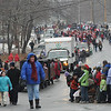 Merrimac:The annual Merrimac Santa Parade makes it's way up Church Street Sunday.photo by Jim Vaiknoras/Newburyport Daily News. Sunday December 7, 2008