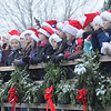 Newbury: The Newbury Elemetary School  choir performs  at the annual tree lighting on the Upper Green sunday..photo by Jim Vaiknoras/Newburyport Daily News. Sunday December 7, 2008