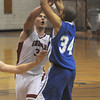 Winthrop:Amesbury's Stephen Serwon fights for a loose ball with Georgetown's Julio Colon during their basketball  game Saturday at Winthrop High in the annual Christmas Tournament.photo by Jim Vaiknoras.Newburyport Daily News. Saturday December 27, 2008