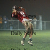 Newburyport: One of the many heroes of Friday nights game for the Clippers, receiver Andrew Sokol (9) brings down a deep pass during Friday nights win over Georgetown at NHS. Photo by Ben Laing/Newburyport Daily News Friday November 14, 2008.
