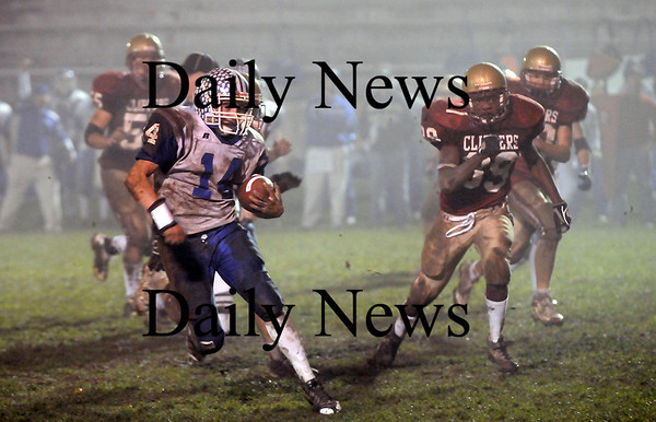 Newburyport: Georetown quarterback Joe Esposito. Photo by Ben Laing/Newburyport Daily News Friday November 14, 2008.