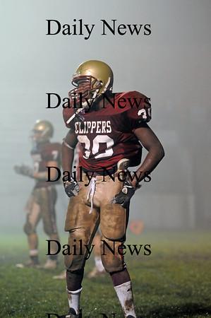 Newburyport: Newburyport's Josh Williams. Photo by Ben Laing/Newburyport Daily News Friday November 14, 2008.
