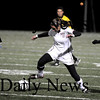 Lynn: Jillian Kinter (7) splits two Cohasset defenders during Tuesday night's Eastern Mass. Final in Lynn. Newburyport won the game in double overtime, 1-0. Photo by Ben Laing/Newburyport Daily News Tuesday November 18, 2008.