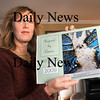 Newburyport:<br /> Lisa Manley who was diagnosed with colon cancer two years ago, overcame it and is now selling calendars to benefit Mass. General Hospital cancer programs.<br /> Photo by Bryan Eaton/Newburyport Daily News Thursday, November 20, 2008