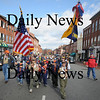 Newburyport: Newburyport scouts march up State Street in the annual Veteran's Day parade Tuesday.photo by Jim Vaiknoras/Newburyport  Daily News. Sunday November 8, 2008