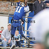 Georgetown:Georgetown's Jaymie Spears intercepts a pass against North Reading Saturday at Georgetown.<br /> photo by Jim Vaiknoras/Newburyport Daily News Saturday November 8, 2008