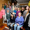 Haverhill:Frances.... leads her singing group at her haverhill home.<br /> Photo by Jim Vaiknoras/Newburyport Daily News Sunday, November 16, 2008