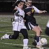 Lynn: Newburyport's Laura Muise controls the ball aqainst Lynnfield at Manning Field in Lynn Thursday night.The Clippers won the game 1-0.photo by Jim Vaiknoras/Newburyport Daily News. Thursday November 13, 2008.