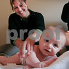 Newburyport:<br /> Megan Taffel gives a massage to her baby, Calli.<br /> Photo by Ben Laing/Newburyport Daily News Thursday, October 30, 2008