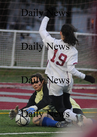Lowell:  The Clippers beat Bedford 2-1 in OT  giving them their 3rd straight North Sectional Title. photo by Jim Vaiknoras/Newburyport Daily News Sunday November 16, 2008
