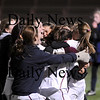 Lynn: The team celebrates as the Clipper's advance to the Massachusetts Division 3 State Final for the second year in a row. Newburyport knocked off Cohasset 1-0, in a double overtime contest in Lynn Tuesday night. Photo by Ben Laing/Newburyport Daily News Tuesday November 18, 2008.