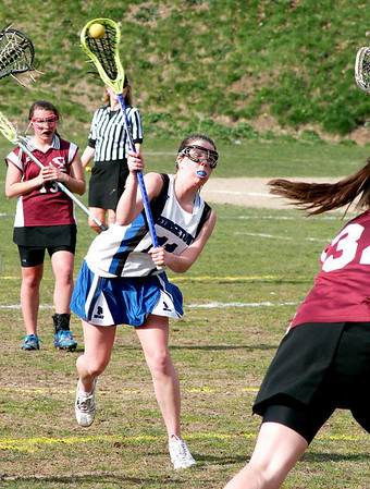 Georgetown: Shannon Hartford (11) of Georgetown takes a shot Friday as the Royals played host to Newburyport. Photo by Ben Laing/Staff Photo