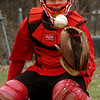 Amesbury:<br /> Amesbury High baseball catcher J.C. Collette.<br /> Photo by Bryan Eaton/Newburyport Daily News Wednesday, April 01, 2009