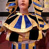 Amesbury:<br /> Jacob Sunnerberg, 9, presents the story of King Tut during the annual Wax Museum at Cashman School in Amesbury. Children researched their subject then gave a presentation of that historical figure to fellow students Thursday, then their parents later that night.<br /> Photo by Bryan Eaton/Newburyport Daily News Thursday, April 16, 2009