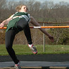 Byfield: Pentucket's Julie Quattrini participates in the high jump at the track meet at Triton yesterday. Photo by Bryan Eaton/ Newburyport  Daily  News Thursday, April 23, 2009.