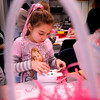 Salisbury:<br /> Natalie Wooldridge, 7, works on an Easter bag to be stuffed with candy at Salisbury Elementary School on Monday using recycled milk cartons. She was in the afterschool  Explorations program in the girls arts and crafts unit. <br /> Photo by Bryan Eaton/Newburyport Daily News Monday, April 06, 2009