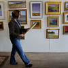 Amesbury: Artist and teacher Julie Airoldi is holding an exhibition of her student's work this weekend. Bryan Eaton/Staff Photo  Newburyport News  Wednesday April 29, 2009.