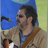 Newburyport: Dr Z, AKA Jim Zanfagna of Newburyport, plays for the crowd at the Earth Day celebration on the Bartlett Mall Saturday. Jim Vaiknoras/Staff photo